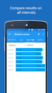Aplicación GPS Sports Tracker: correr, caminar, andar en bicicleta Captura de pantalla
