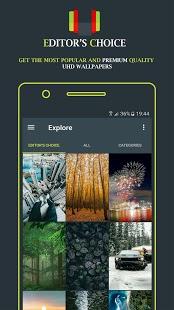 WallRoach PRO 🔥 - Captura de pantalla de fondos de pantalla 4K HD y UHD