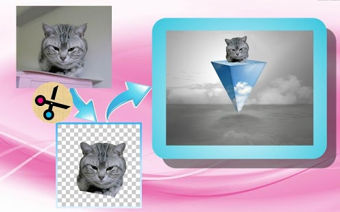 Captura de pantalla de Photo Cutter Pro
