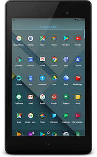 Super Launcher: captura de pantalla de Pixel Edition