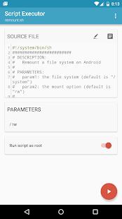 BusyBox para Android Captura de pantalla