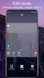 Nuevos temas de Launcher 2020, paquetes de íconos, fondos de pantalla Captura de pantalla