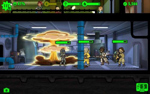Captura de pantalla de Fallout Shelter
