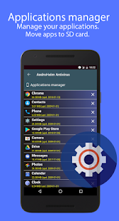 Captura de pantalla de AntiVirus Android Security 2020