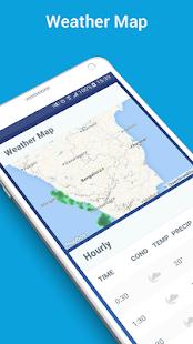 Captura de pantalla de la aplicación Weather Channel