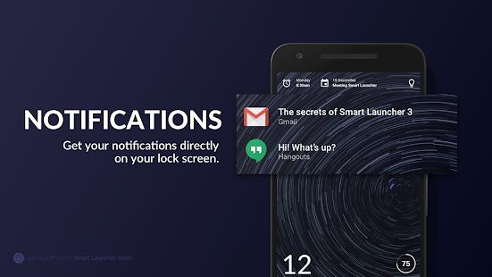 Black Hole - Captura de pantalla de la pantalla de bloqueo