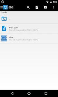 EDS: cifre sus archivos para mantener sus datos seguros Captura de pantalla