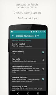 Captura de pantalla premium de Lineage Downloader