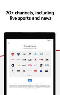 YouTube TV: vea y grabe una captura de pantalla de TV en vivo