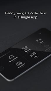 Widgets de HUD: widgets de conducción con captura de pantalla del modo HUD