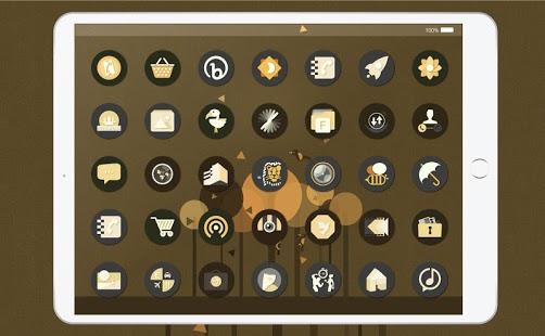 Captura de pantalla del paquete de iconos Retro O