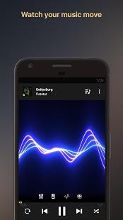 Reproductor de música con ecualizador Captura de pantalla