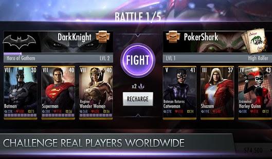 Injustice: Gods Among Us Captura de pantalla