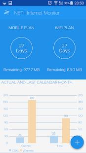 NET |  Captura de pantalla del monitor de Internet