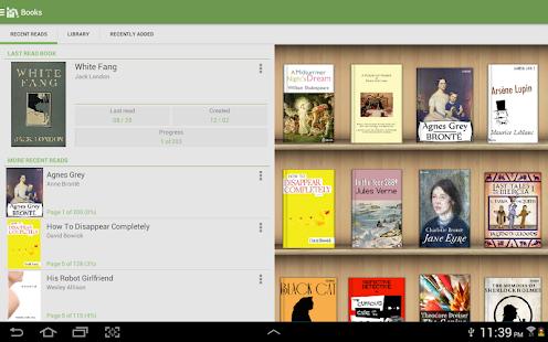 Captura de pantalla de Aldiko Classic Premium