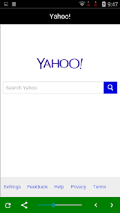 Captura de pantalla del servicio de grupo de búsqueda