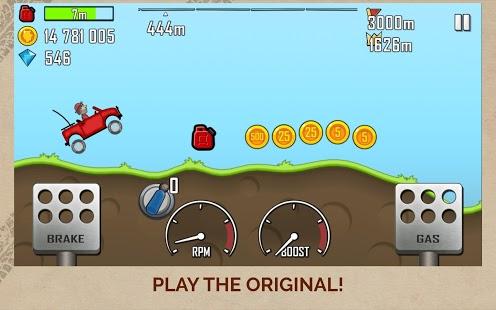 Captura de pantalla de Hill Climb Racing