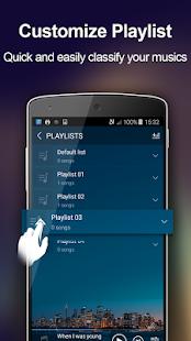 Reproductor de música + captura de pantalla