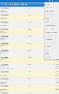 Captura de pantalla de Expense Manager Pro