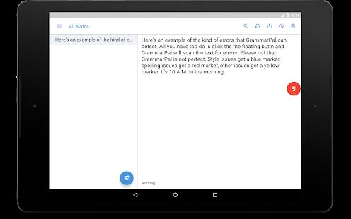 Captura de pantalla de GrammarPal