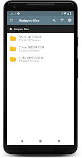 UNZIP & ZIP FILES PRO Captura de pantalla