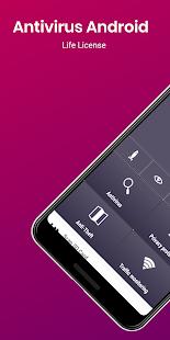Captura de pantalla de seguridad de AntiVirus para Android