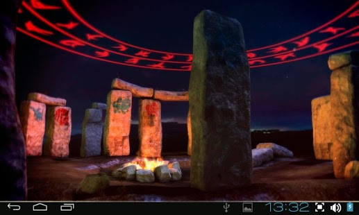 Captura de pantalla 3D Stonehenge Pro lwp