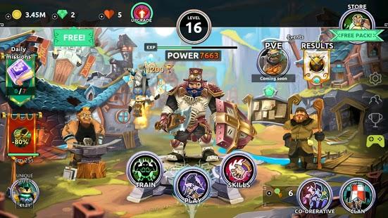Dungeon Legends - PvP Action MMO RPG Juegos cooperativos Captura de pantalla