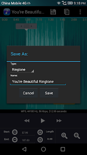 Captura de pantalla de Ringtone Maker Pro