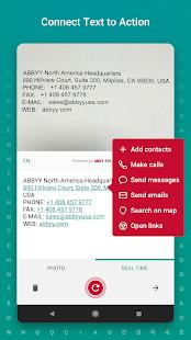 Captura de pantalla de TextGrabber Offline Escanear y traducir foto a texto