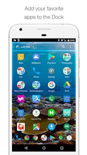 Captura de pantalla de Mini Desktop (Launcher)