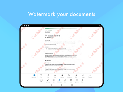 Escáner de documentos: captura de pantalla de PDF Creator