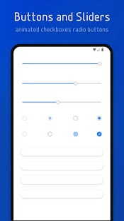 Flux White - Captura de pantalla del tema Substratum