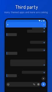 Flux - Captura de pantalla del tema Substratum