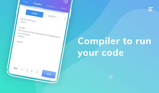 Centro de programación: captura de pantalla para aprender a codificar