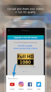 ActionDirector Video Editor - Editar videos Captura de pantalla rápida
