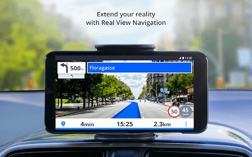 Captura de pantalla de Sygic GPS Navigation y mapas sin conexión