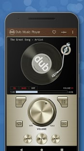 Dub Music Player - Reproductor de audio gratuito, ecualizador 🎧 Captura de pantalla