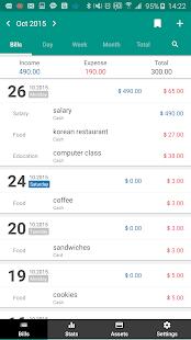 Captura de pantalla de Money Manager (+ Edición de PC)