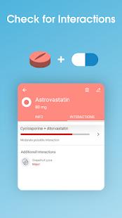 Recordatorio de píldoras y rastreador de medicamentos - Captura de pantalla de Medisafe