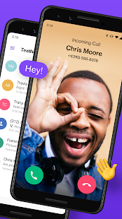 TextNow: Captura de pantalla de la aplicación de llamadas y mensajes de texto gratis
