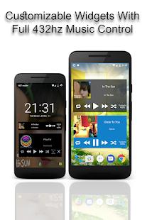 432 Player Pro - Captura de pantalla del reproductor de música de audio 432hz sin pérdidas