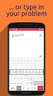 Symbolab - Captura de pantalla del solucionador de matemáticas