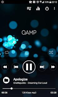 Reproductor de MP3 profesional - Captura de pantalla de Qamp