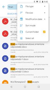 Captura de pantalla de Solid Explorer File Manager