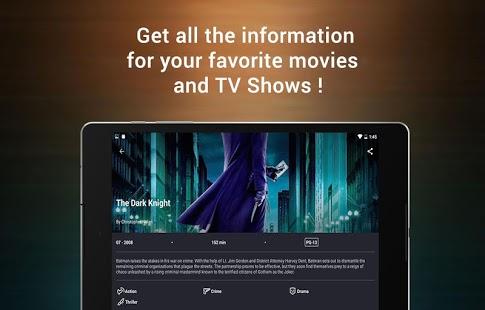 CineTrak: Captura de pantalla de su diario de películas y programas de televisión