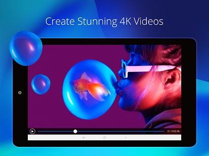 PowerDirector: aplicación de edición de video, mejor captura de pantalla del creador de videos