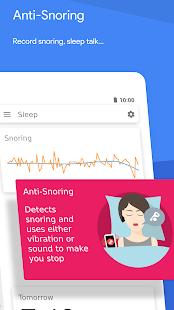 Dormir como Android 💤 Ciclo de sueño con alarma inteligente Captura de pantalla