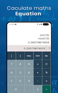 Escáner matemático por foto: captura de pantalla de Resolver mi problema matemático