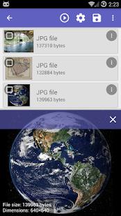 Captura de pantalla de recuperación de archivos DiskDigger Pro